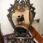 Продам зеркало с полкой, Новосибирск
