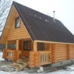 Рубим срубы бань домов под заказ, Новосибирск