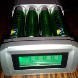 Интеллектуальное зарядное устройство для AA/AAA,NiCd,Nimh аккум, Новосибирск