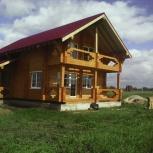 Строительство бань, домов из бруса (в т.ч профилированного), Новосибирск