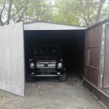 Продам изготовим металлический гараж и привезем, Новосибирск