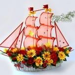 Свадебный конфетный корабль, Новосибирск