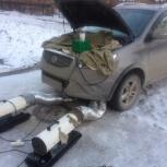 Отогрев авто, прикурить аккумулятор, Новосибирск