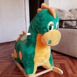 Динозавр детская качалка, Новосибирск