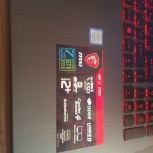 Игровой ноутбук MSI GV72 7RD 4 ядра 8гб оперативы, Новосибирск