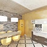 Дизайн гостиных и столовых, Новосибирск