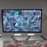 Монтаж систем видеонаблюдения, Новосибирск