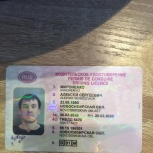 Найдено водительское удостоверение, Новосибирск