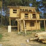 Строительство Домов , Бань из бруса, кирпича, сибита, Новосибирск