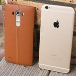Куплю LG G4 с кожанной крышкой или iPhone 6, Новосибирск