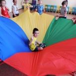 Аренда и продажа гигантских памперсов и игровых парашютов, Новосибирск