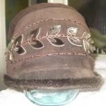 Зимняя шапка-шляпка, Новосибирск