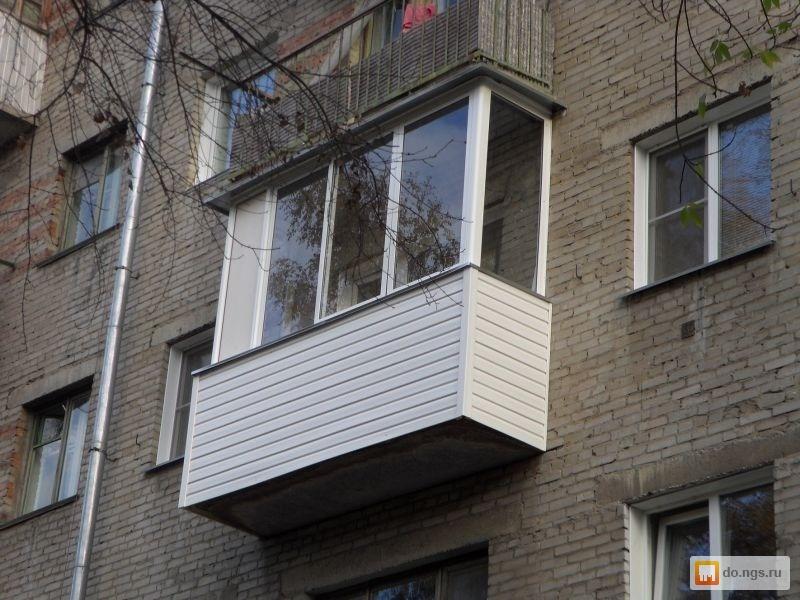 Остекление балконов в новосибирске дешево навесной балкон застеклить