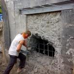 Демонтаж стен, перегородок, фундаментов, домов, Новосибирск