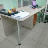 Стол письменный на два рабочих места, Новосибирск