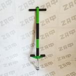 Тренажёр-кузнечик Pogo Stick до 40 кг, Зелёный, Новосибирск