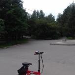 Продам маленький электрический велосипед, Новосибирск