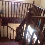 Установка, монтаж деревянных лестниц, ремонтж., Новосибирск
