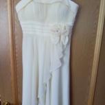 Продам платье вечернее (свадебное) б/у, Новосибирск