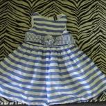 Продам нарядное платье на девочку 4-6 лет, Новосибирск