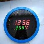 Часы-термометр настенные, Новосибирск