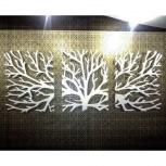 Интерьерная композиция из дерева, Новосибирск