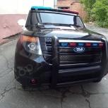 Полицейский электромобиль для детей, Новосибирск