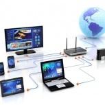 Организация компьютерных сетей / эл. сетей / ВОЛС / тлф. сетей / СКС, Новосибирск