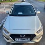 Прокат авто hyundai solaris 2019 г.в, Новосибирск