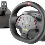 Руль Logitech MOMO Racing Force Feedback Wheel, Новосибирск