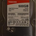 """Продам новый жесткий диск TOSHIBA HDWD105 SATA 3.5""""  500Gb, Новосибирск"""