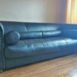 Итальянский кожаный диван Alfred Baxter, Новосибирск