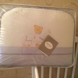 Детская кроватка + матрас + нежный комплект Perina, Новосибирск