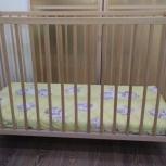 Продам детскую кровать с матрасом, Новосибирск