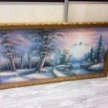 Картина Зимнего вида, Новосибирск