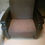 Кресло-кровать с нишей раздвижное коричневое, Новосибирск