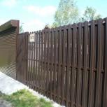 Установка заборов и ворот. Металлоконструкции, Новосибирск