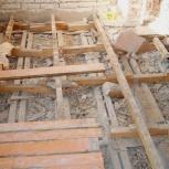 Демонтаж плинтуса, напольных покрытий, стяжки, Новосибирск