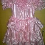 Атласное платье для принцесс, Новосибирск