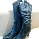 Сапоги кожаные 39 размер, Новосибирск