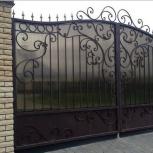 Ограждения, металлические ворота, лестницы, Новосибирск