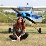 Полёт на самолёте Cessna 150, Новосибирск