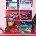Продам детскую кровать- тачку + шкаф, Новосибирск