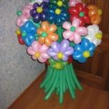 Цветы из воздушных шаров. Шары с гелием, Новосибирск