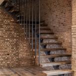 Лестница на металлокаркасе, Новосибирск
