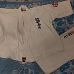 Продам кимоно для каратэ р-р 150, Новосибирск