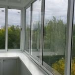 Алюминиевый балкон  (кв), Новосибирск