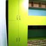 Новый, Детский 2-х ярусный комплекс, 2 полноразмерные спальные места, Новосибирск