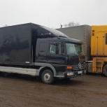 Грузоперевозки аппарель 3,5,7 и 10 тонн, Новосибирск