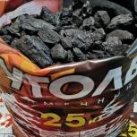 Уголь в мешках, самовывоз, доставка! Дрова березовые, брикеты, Новосибирск